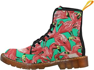 Artsadd Fashion Shoes Lotus Lace Up Boots for Women