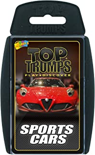 Sports Cars Top Trumps Juego de Cartas