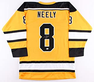 Cam Neely Autographed Yellow Boston Bruins Jersey - Hand Signed By Cam Neely and Certified Authentic by JSA - Includes Certificate of Authenticity