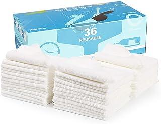 1枚当たり55円 ふきん マイクロファイバー クロス ぞうきん 雑巾 布巾 クリーニング 掃除 吸水 速乾 業務用 お徳用 Lipropp 30x30cm 36枚入