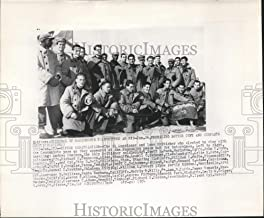 Historic Images - 1954 Vintage Press Photo 21 Americans & One Britisher Remain in North Korea after War