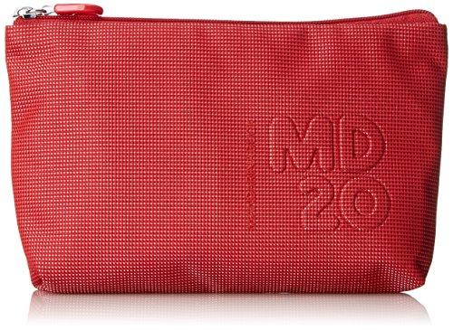 Mandarina Duck Damen Md20 Minuteria Clutch, Rot (Flame Scarlet), 3.5x15x24 CM