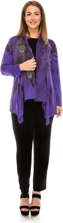 Jostar Women's ITY Mid-Cut Jacket Long Sleeve Sublimation Rhinestones