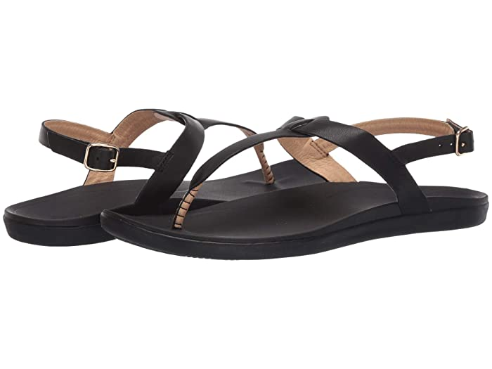 'Ekekeu  Shoes (Black/Black) Women's Sandals