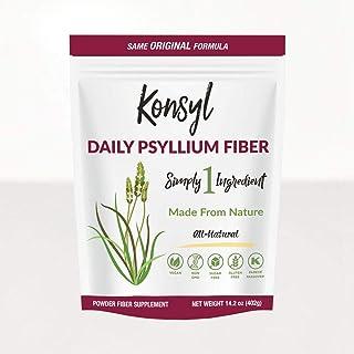Konsyl Original Formula Psyllium Fiber 14.2 oz (402g)-  Packaging May Vary - Pack of 6