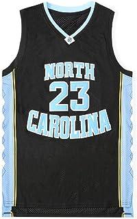 YSA Michael Jordan 23# Baloncesto Jersey Vintage Bordado Uniforme, University of North Carolina Traje NCAA Camiseta sin Mangas Unisex Swingman XS -XXL