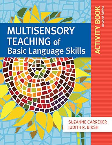 Multisensory Teaching Of Basic Language Skills Activity Book Revised Edition