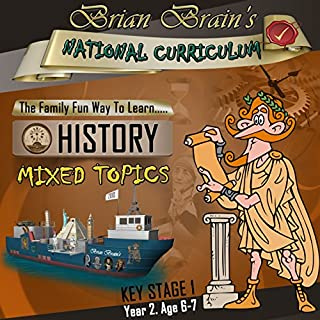 Brian Brain's National Curriculum KS1 Y2 History Mixed Topics cover art