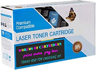 WORLDS OF CARTRIDGES Remanufactured Ink Cartridge Replacement for HP 15 (C6615A / C6615D) (Black)