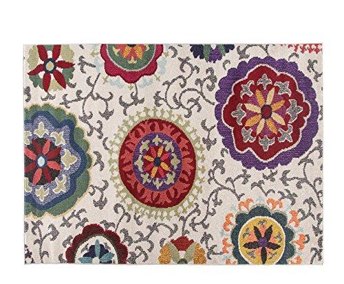 Alfombrista Moderna 3 - Alfombra, Acrílico, Multicolor, 140 x 70 cm