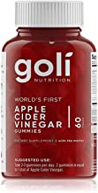 Apple Cider Vinegar Gummy Vitamins by Goli Nutrition - Immunity & Detox - (1 Pack, 60 Count, with The Mother, Gluten-Free,...