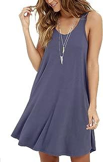 Women's Casual Swing Simple T-Shirt Loose Dress