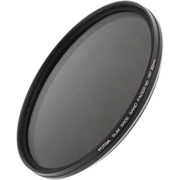 FOTGA PLANA Fader Variable ajustable Nd Filtro ND2 to ND400 49mm Neutral
