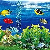Papel tapiz fotográfico 3D estereoscópico océano acuario sofá TV Fondo decoración de pared sala de estar Mural moderno papel de pared-430 * 300