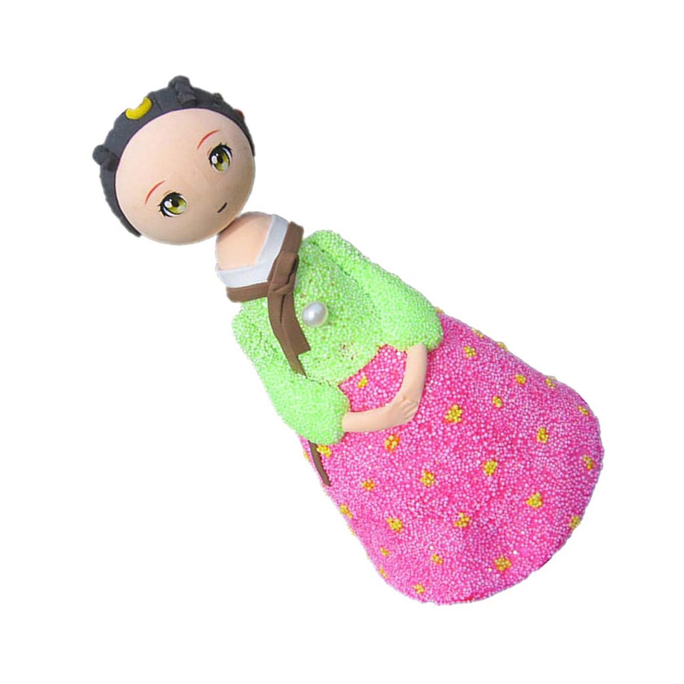 行動ライセンス冷ややかな全3色 ドール 人形 粘土人形 女の子 プリンセス人形 装飾品 DIY アクセサリー - #3