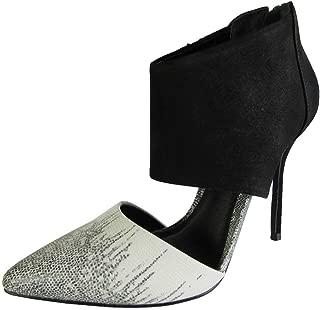 Steve Madden Emalena Womens Black Suede Ankle Strap Sandals US5