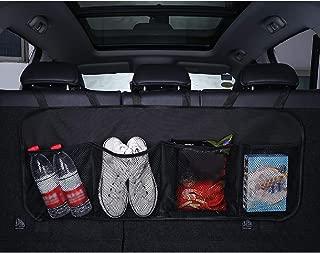 Carrfan Festnight Organizer Auto Sedile Posteriore Multi-Tasca Rete Borse di Stoccaggio