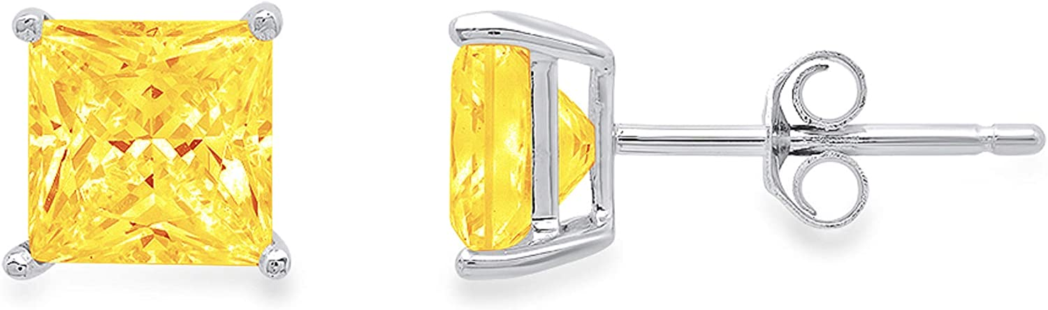 Popular shop is Max 68% OFF the lowest price challenge Clara Pucci 1.1 ct Brilliant Flawles Cut VVS1 Princess Solitaire