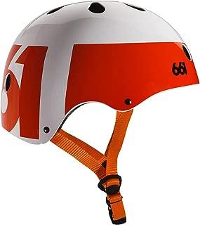Six Six One Dirt Lid Helmet White/Orange, One Size