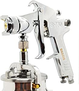 225250 Heavy Duty Air Paint Spray Gun Car Truck Painting Gun Suction Type 1000cc