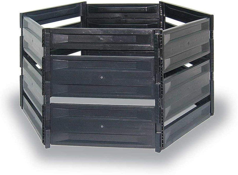 MyGardenlust Komposter - Composter für Garten-Abflle - Schnellkomposter aus Kunststoff - Kompostierer stabil und hochwertig - Thermokomposter als praktisches Stecksystem 1050 L