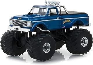 Greenlight 1:64 Kings of Crunch Series 2 - 1970 Chevrolet K-10 Monster Truck Blue USA-1