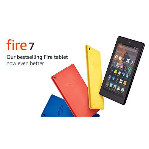 Fire 7 Tablet, 8 GB, Black—with Special Offers (Previous Generation - 7th)