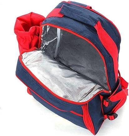 WNAG XIN Outdoor-Schulter-Multifunktions-Picknick-Tasche Camping Vier-Personen-Besteck mit Picknick-Matte Schulter Eisbeutel Picknick-Tasche B07JJZGCGN | Hohe Qualität