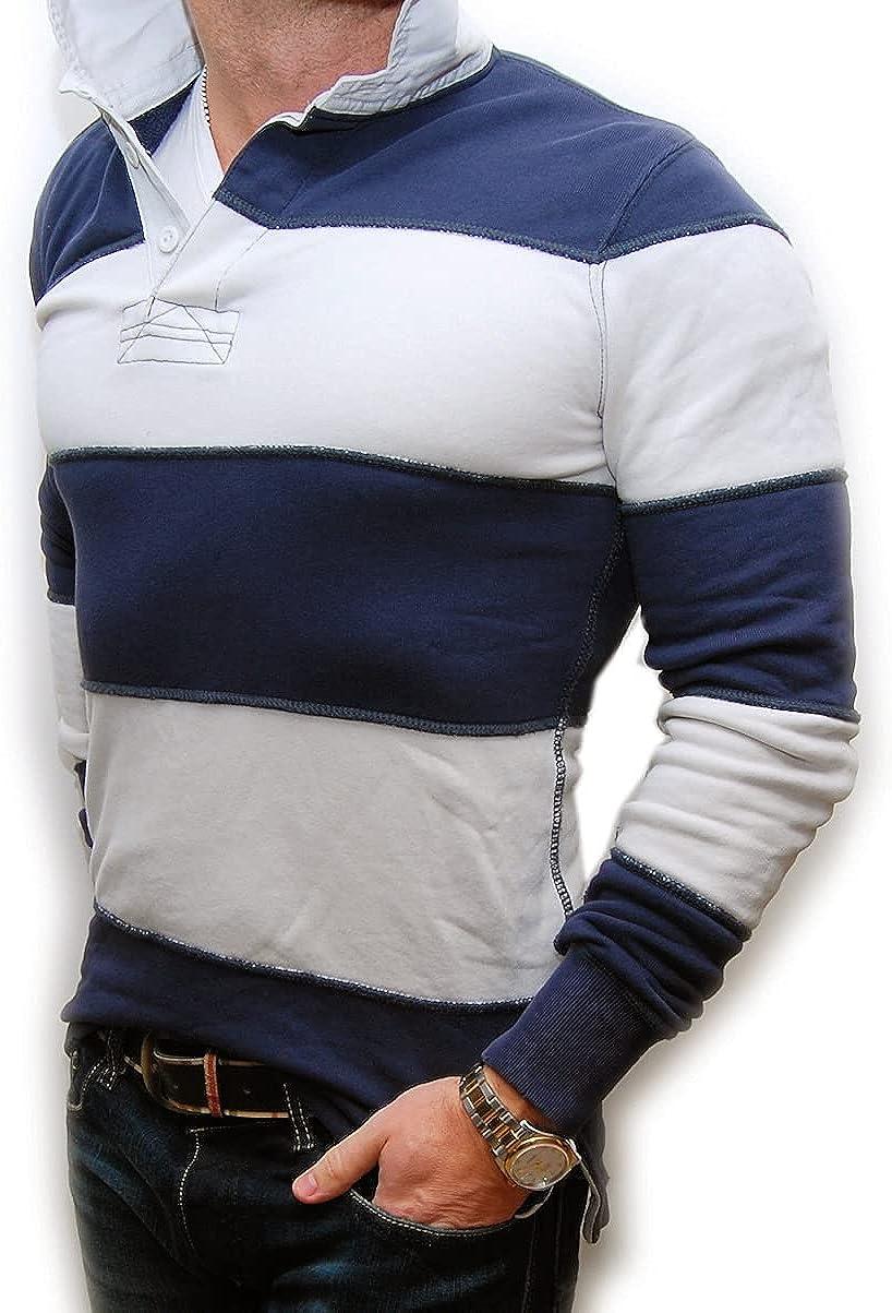 Ralph Lauren Ranking TOP15 Polo Rugby Mens Sweatshirt Shirt Distressed Washington Mall Na Worn