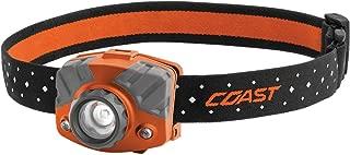 COAST FL75 435 Lumen Dual Color Focusing LED Headlamp, Orange