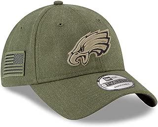 New Era Mens NFL 2018 Salute to Service 9Twenty Strapback Hat