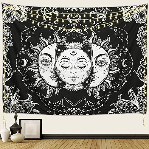 ARFBEAR Sun and Moon Tapestry