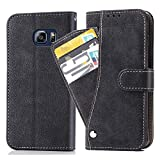 Asuwish Galaxy S6 Edge Wallet Case,Leather Phone Cases with Credit Card Holder...