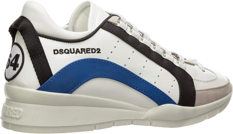 Dsquared2 Sneakers 551 Uomo Bianco Bianco