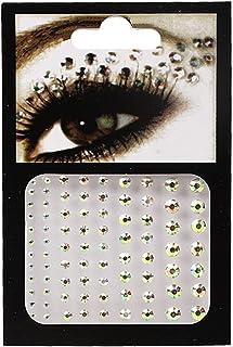 CQHUI 6 kleuren tattoo sticker glitter diamant make-up eyeliner oogschaduw gezicht rhinestone sticker sieraden ogen make-u...