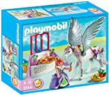 PLAYMOBIL Future Planet - Pegasus with Princess and Vanity, Princesa Pegaso, Multicolor, 25 x 10 x 20 cm, (626701)