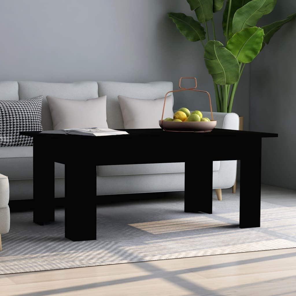 INLIFE Attention brand Coffee Table Black Max 40% OFF 39.4