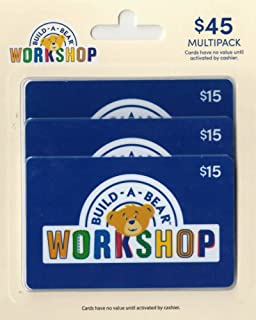 Build-A-Bear Gift Cards, Multipack of 3