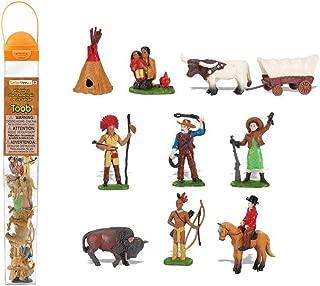 Safari Ltd Wild West TOOB -  11 Hand Painted Toy Figurines