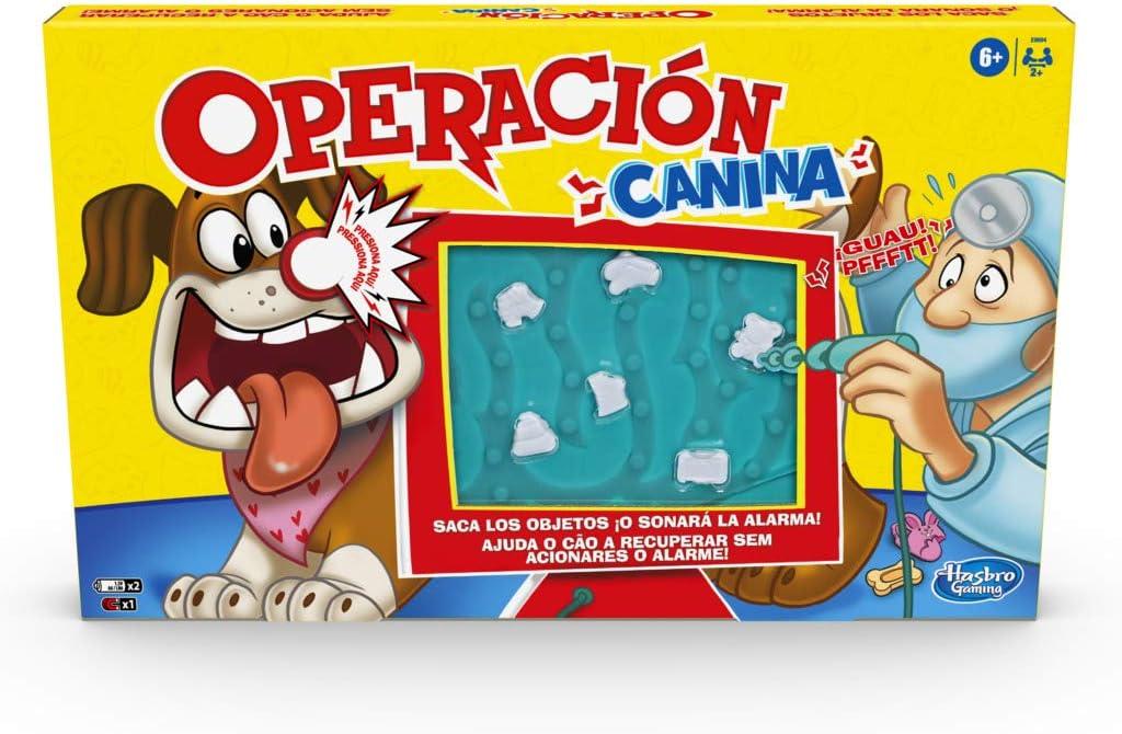 Hasbro Gaming Operación Canina (Hasbro E9694175)