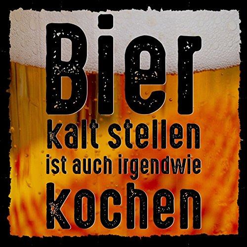how about tee? Bier kalt Stellen ist auch irgendwie Kochen