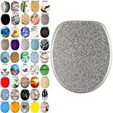High Quality Toilet Seat Crystal Silver | Great Range of Colorful Toilet Seats