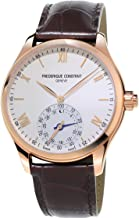 Frederique Constant Horological Smartwatch Mens Fitness Watch – 42mm White Face..