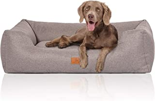 Knuffelwuff Hundebett Hundekörbchen Hundesofa Hundekissen Hundekorb Bezug Waschbar Malia