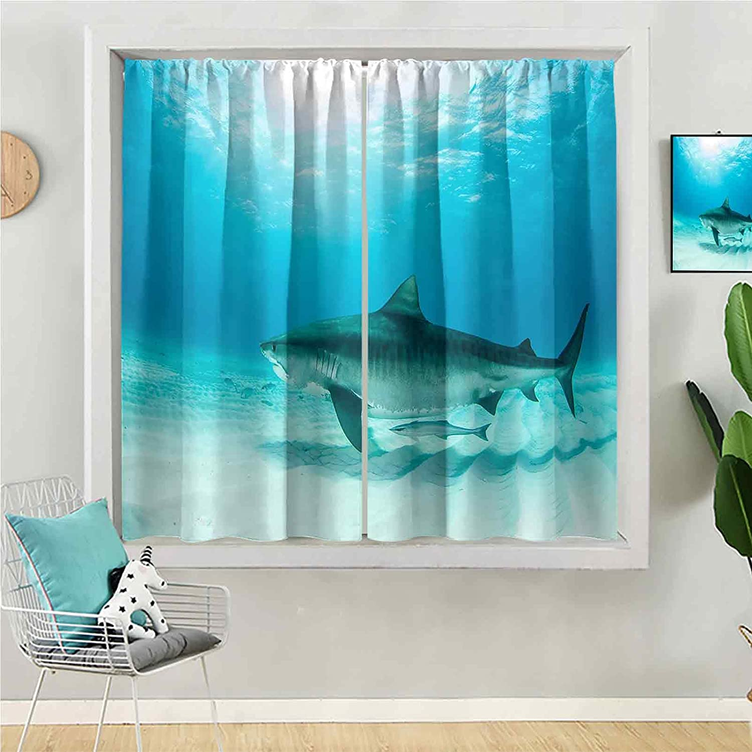 Blackout Curtain 63 inches Long Window Be Max Tulsa Mall 73% OFF Kids for Panel