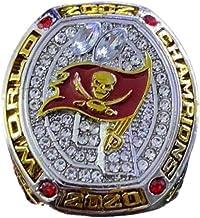 2020 Tampa Bay Buccaneers Super Bowl Championship Officiële Ring 11 size Fan souvenirs voetbal beweging Ring met doos