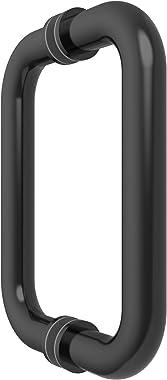 "CRL 6"" Oil Rubbed Bronze (BM Series) Tubular Back-To-Back Pull Handle"