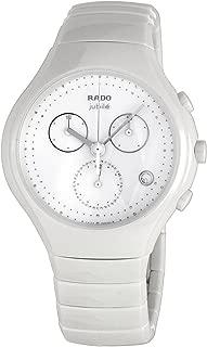 Rado Diastar True Chronograph White Ceramic Mens Watch Quartz Calendar R27832702