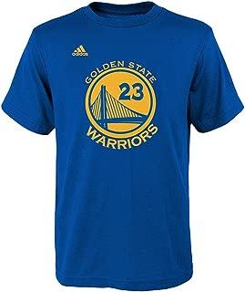 Outerstuff adidas Draymond Green Golden State Warriors #23 NBA Youth Net Player T-shirt Blue (Youth X-Large 18)