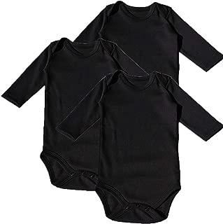 hibshaby Baby Bodysuit Long Sleeve -Toddler 100% Cotton Bodysuits for Infant Unisex Boys Girls